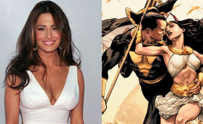 RUMOR: Sarah Shahi In Talks To Play Isis In Dwayne Johnson's 'Black Adam'