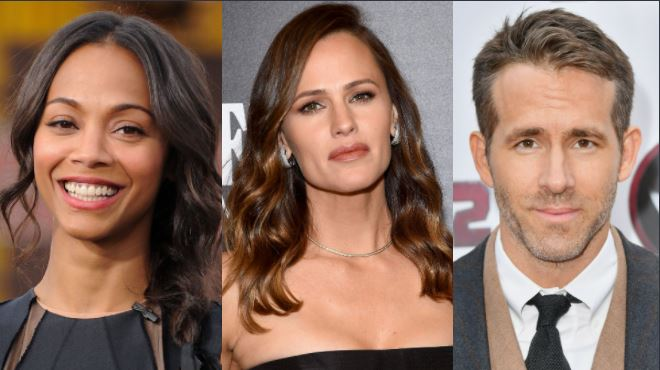 Zoe Saldana & Jennifer Garner Join Ryan Reynolds In Netflix's 'The Adam Project'