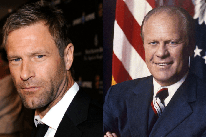 Aaron Eckhart To Portray President Gerald Ford In Showtime's 'First Lady' Anthology Series