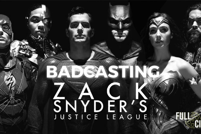 Badcasting 'Zack Snyder's Justice League'
