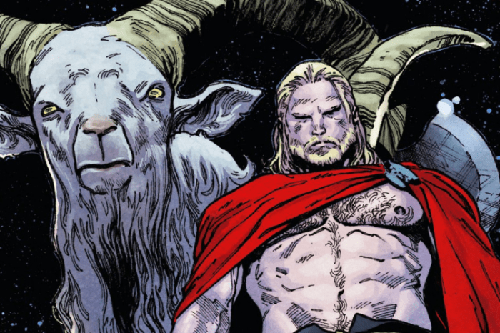 'Thor: Love and Thunder' Set Photos Feature Thor's Goats & More