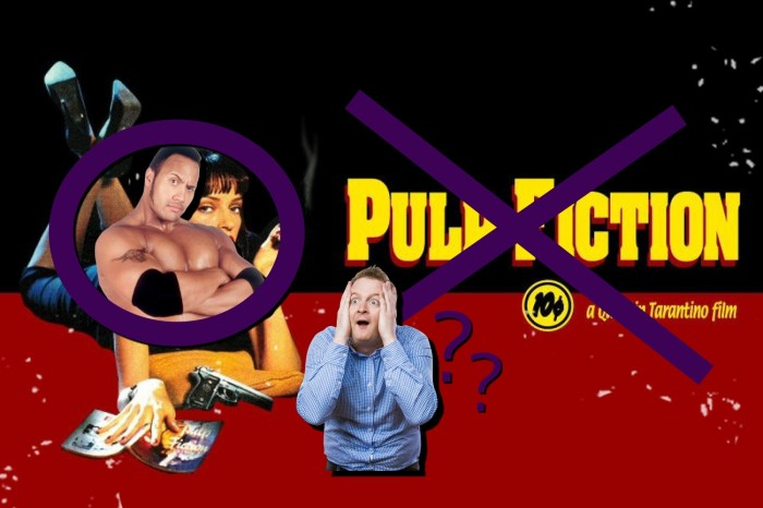 Top 5 People Who Haven't Seen 'Pulp Fiction'