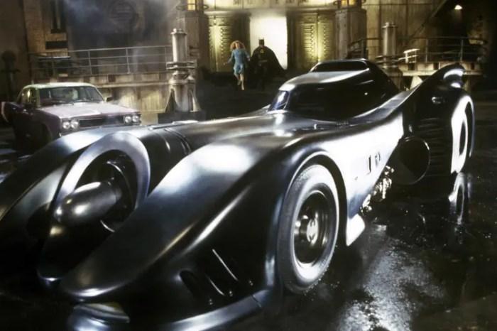 'The Flash' Set Photos Feature Look At Michael Keaton's Batmobile