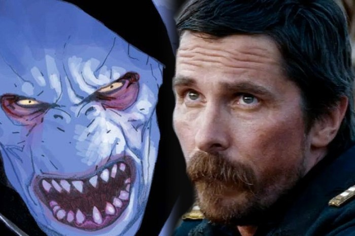 First Look At Christian Bale as Gorr In 'Thor: Love and Thunder' Revealed