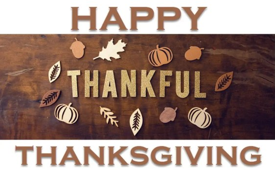 Happy Thanksgiving from FCVC