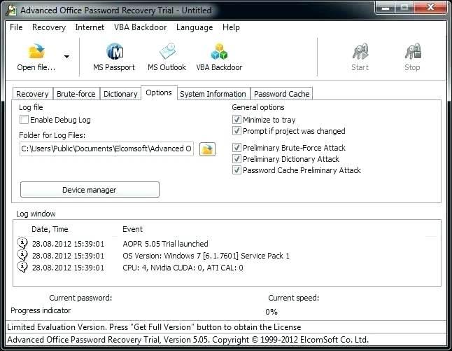 Remove VBA Password 4.8.28 Crack