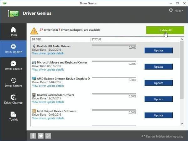 Driver Genius 18.0.0.164 Crack