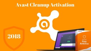 Avast Cleanup 2018 Activation Code Crack