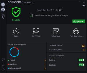Comodo Cloud Antivirus 1.19.4 Crack