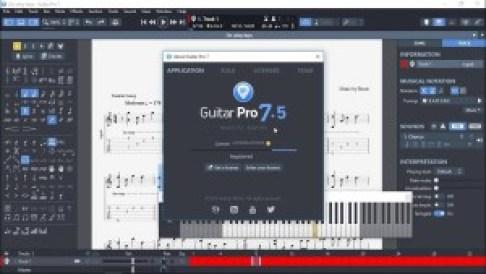 Guitar Pro 7.5.1 Build 1454 Crack
