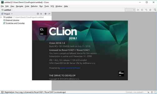 CLion 2018.2.4 Crack