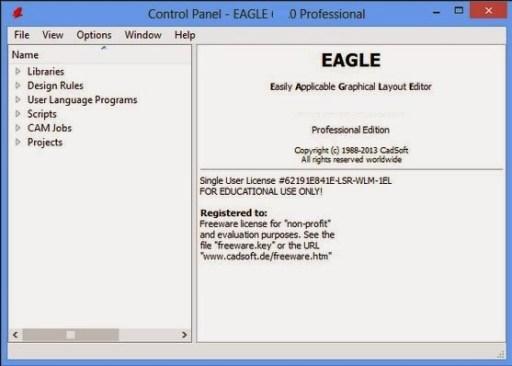 CadSoft Eagle 9.2.0 Crack