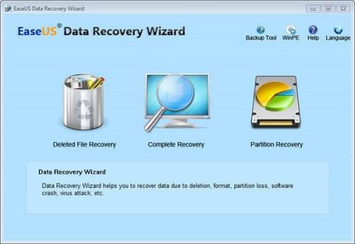 EaseUS Data Recovery Wizard 12.6 Crack