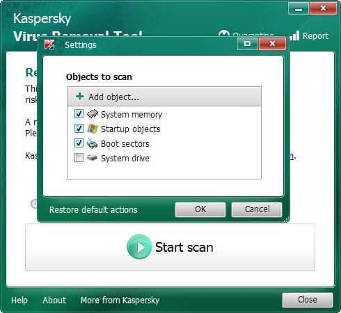 Kaspersky Virus Removal Tool 2019.1.4 Crack