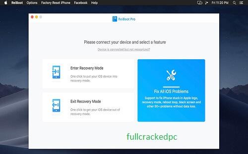 Tenorshare ReiBoot Pro 8.0.6.4 Crack + Registration Code {Latest} 2021