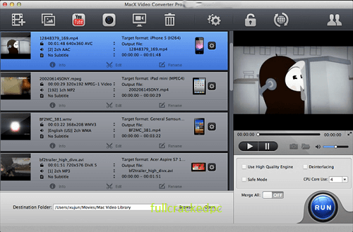 MacX Video Converter Pro 6.5.2 Crack + License Key Free Download