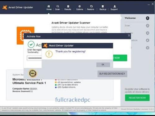 Avast Driver Updater 21.1 Crack + License Key 2021 [Latest]