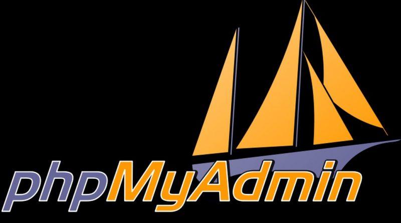 phpMyAdmin 4.8.2