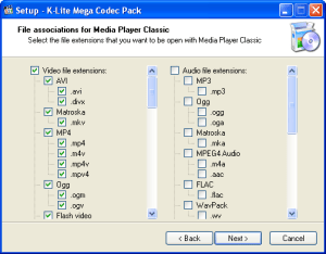 K-Lite Mega Codec Pack 14.304