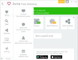 Download Avira Antivirus Pro 15.0.38.15