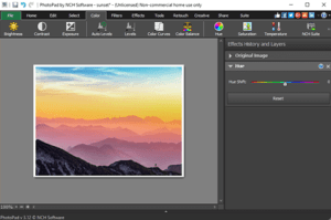 NCH PhotoPad Image Editor Pro 7.44 Crack + Registration Code Free Download
