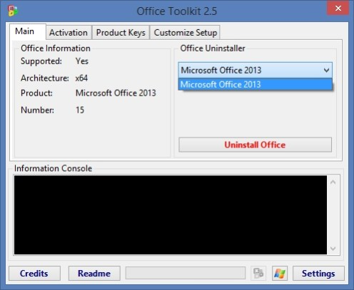 Microsoft Toolkit 2.6.8 Activator For Office + Windows