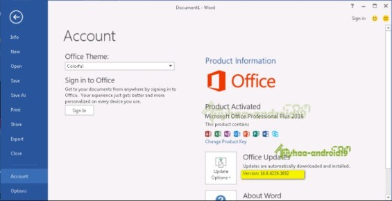 Microsoft Office 2016 Crack Full Activation Key Free Download