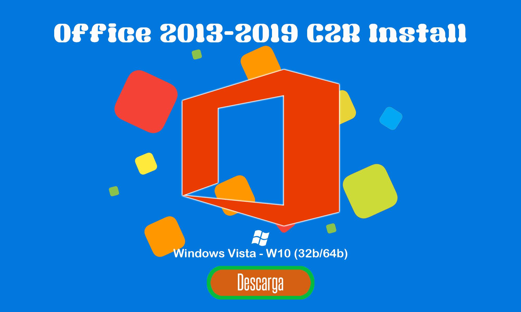 Resultado de imagen para Office 2013-2019 C2R Install