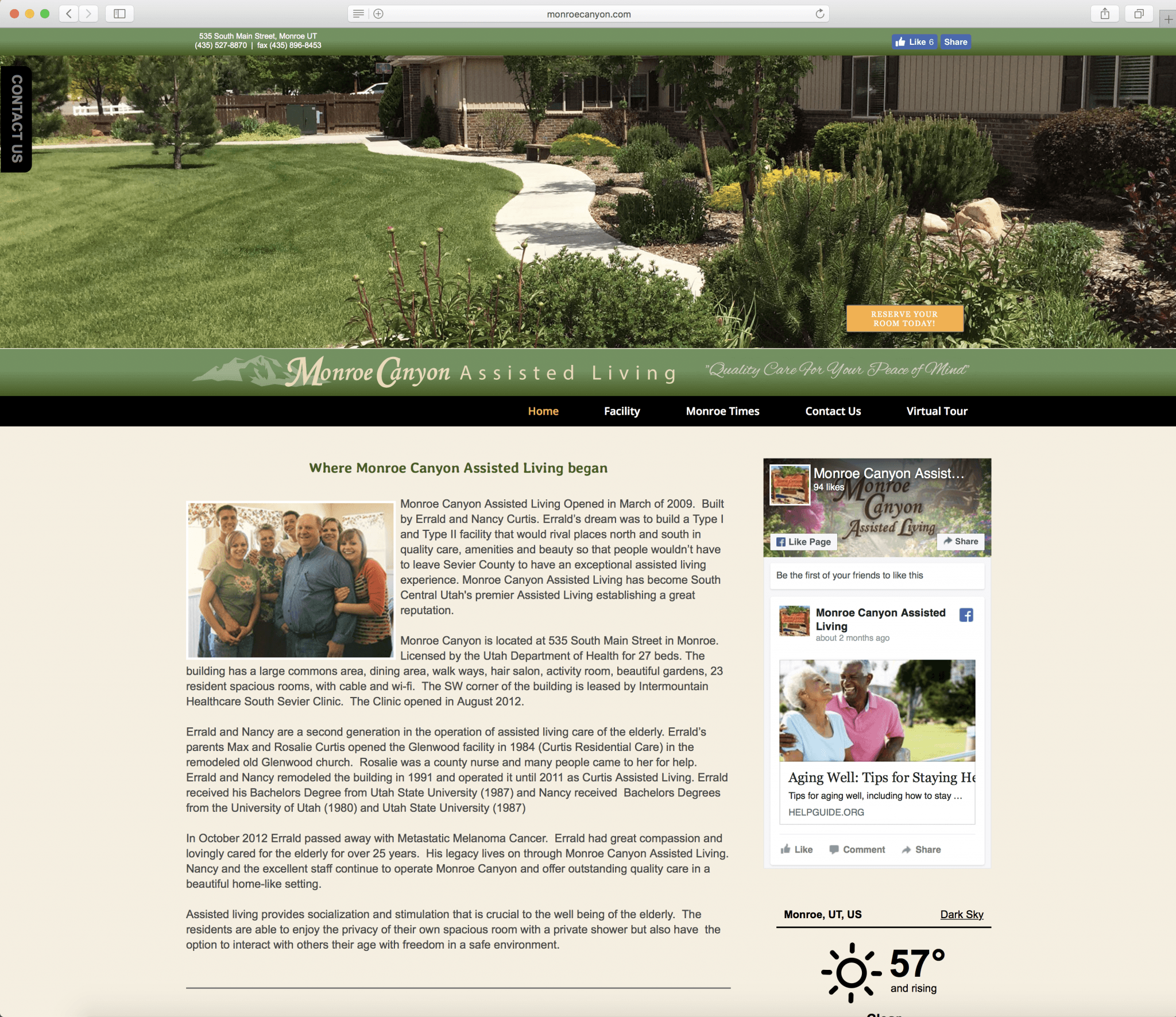 Monroe Canyon Assisted Living