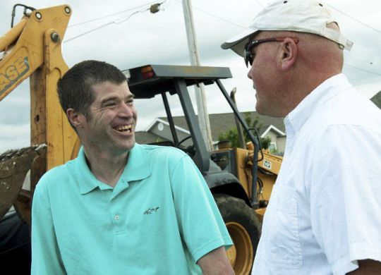 Special-needs resident of Joplin, Missouri, rewarded for his hard work, generosity