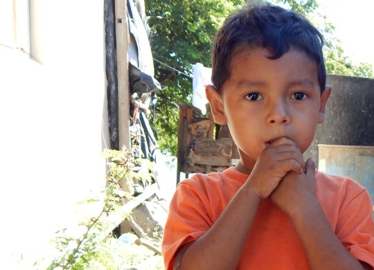 Preschool children in Las Peñitas, Nicaragua, see facilities get needed improvements