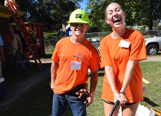 New Fuller Center volunteer reflects on her first Legacy Build