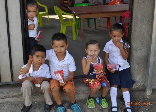 PHOTO GALLERY: Volunteers further improve school in Las Peñitas, Nicaragua