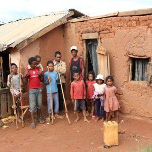 Madagascar slum