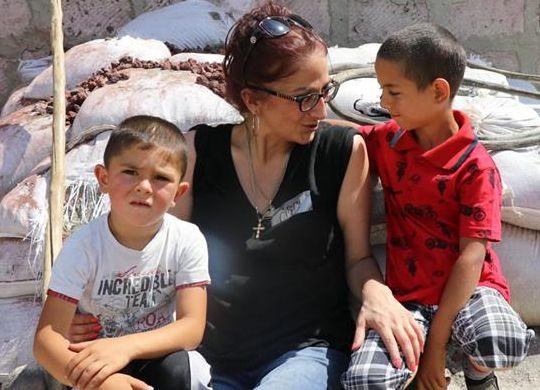 Armenian Assembly of America, summer interns, help build Fuller Center home