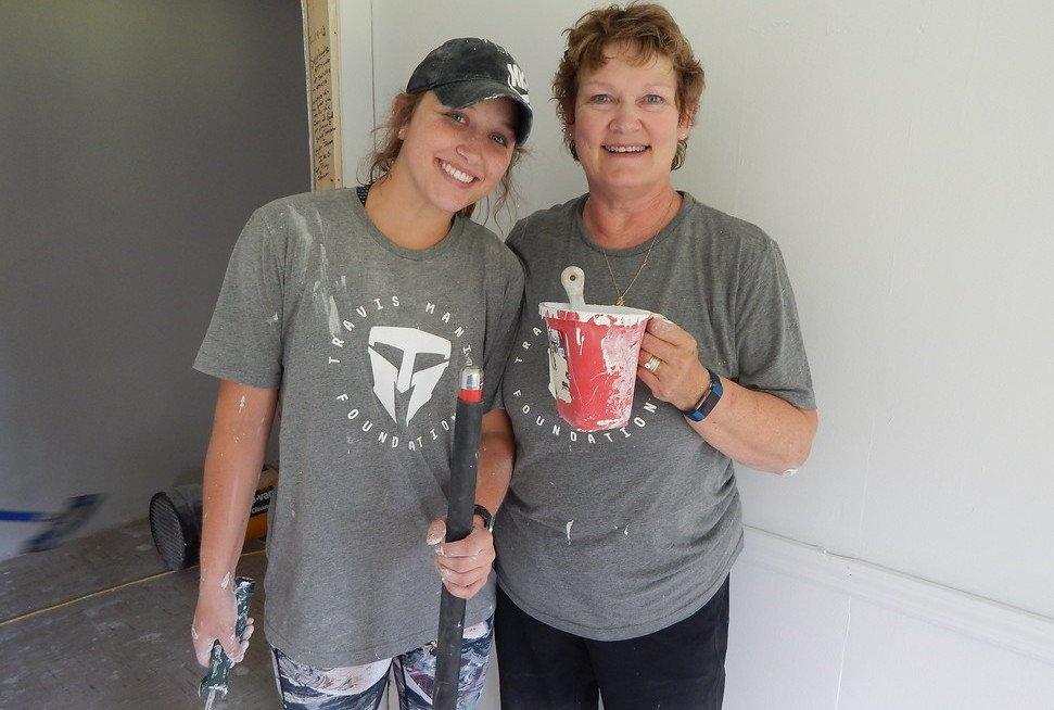 Travis Manion Foundation volunteers work with the Disaster ReBuilders in New Bern, N.C.