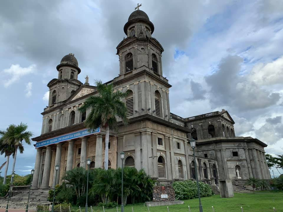 Cathedral in Managua