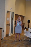 Trisha Brauer, Taking Bids Benefit Auctions, was our awesome auctioneer for the evening!
