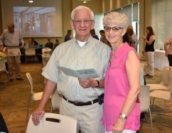 Linda Meyers, Parkville Presbyterian Church, and her guest