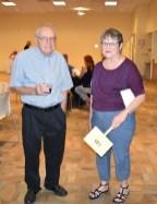 FCH Board member, Charley Lamb, and Lorraine Walters, former FCH board member