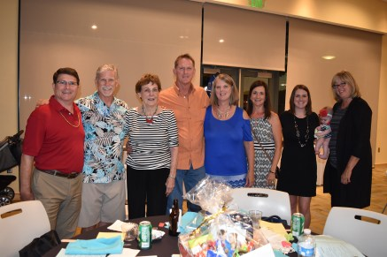 Graham Houston and his family