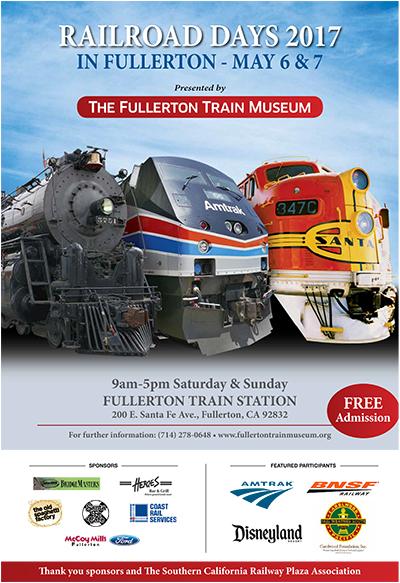 Railroad Days, May 6-7, 2017