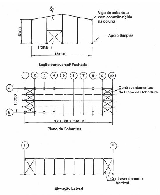 Estrutura Metálica Galpão