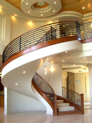 Escada Metálica Circular