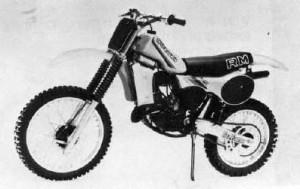 1982 Suzuki RM125 Z