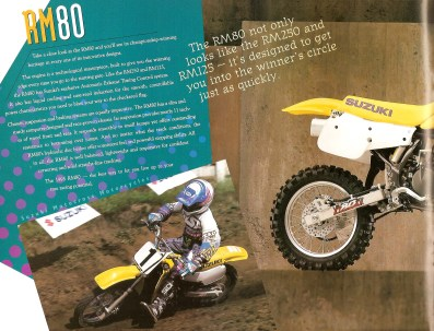 1995 Suzuki RM - RMX Brochure - Page 5