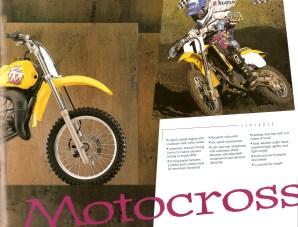 1995 Suzuki RM - RMX Brochure - Page 6