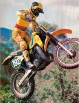 Motocross Action – RM250Z – June 1982