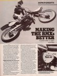 Motocross Action – X Hop-ups - October 1981