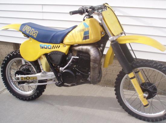 1983 Suzuki RM500